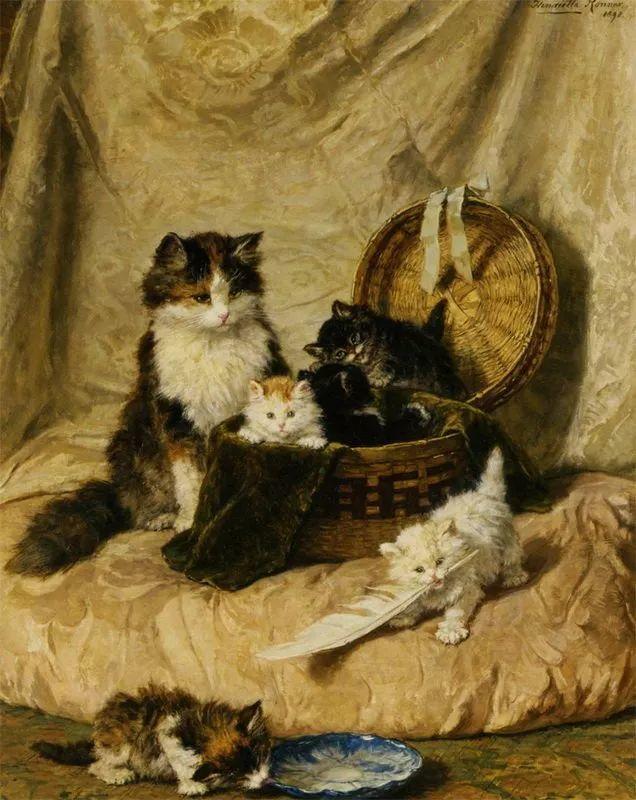 她爱猫、养猫、画猫,倾注一生才华献给猫插图1