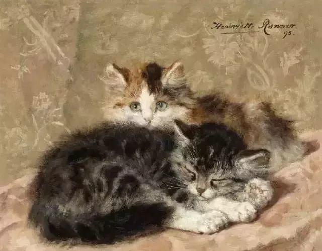 她爱猫、养猫、画猫,倾注一生才华献给猫插图13