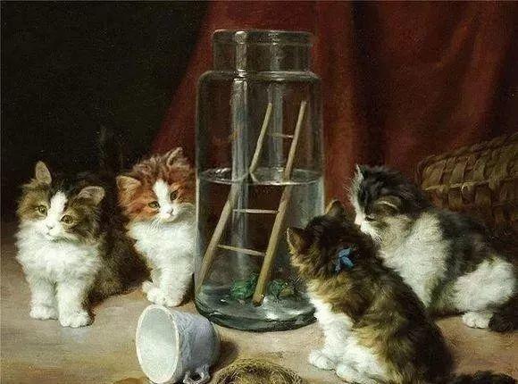她爱猫、养猫、画猫,倾注一生才华献给猫插图15
