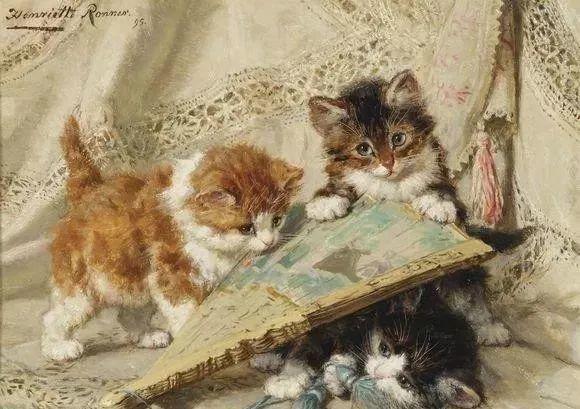 她爱猫、养猫、画猫,倾注一生才华献给猫插图17