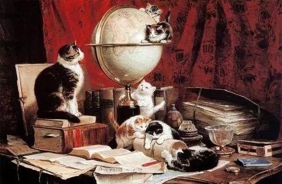 她爱猫、养猫、画猫,倾注一生才华献给猫插图19