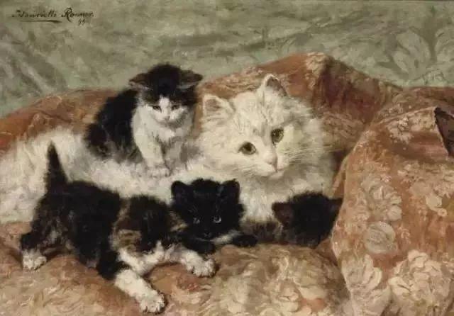 她爱猫、养猫、画猫,倾注一生才华献给猫插图21
