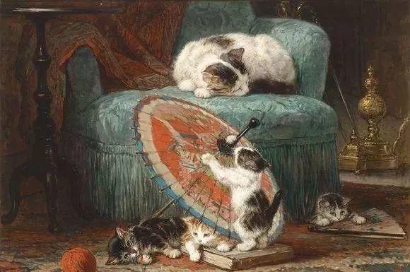 她爱猫、养猫、画猫,倾注一生才华献给猫插图23