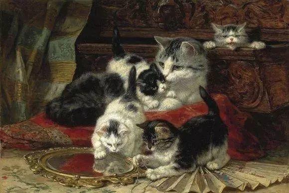 她爱猫、养猫、画猫,倾注一生才华献给猫插图25