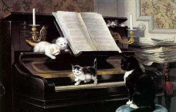 她爱猫、养猫、画猫,倾注一生才华献给猫插图29