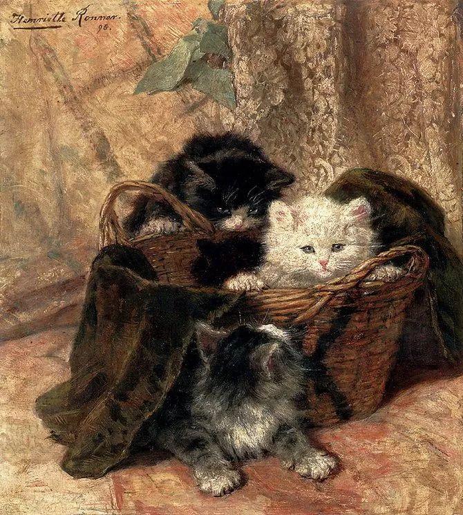 她爱猫、养猫、画猫,倾注一生才华献给猫插图33
