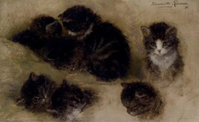 她爱猫、养猫、画猫,倾注一生才华献给猫插图35