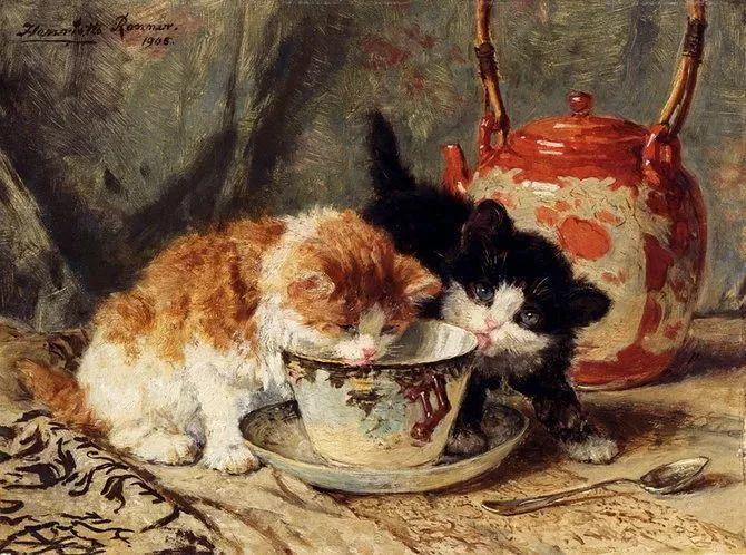 她爱猫、养猫、画猫,倾注一生才华献给猫插图47