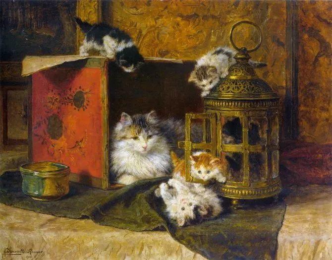 她爱猫、养猫、画猫,倾注一生才华献给猫插图49