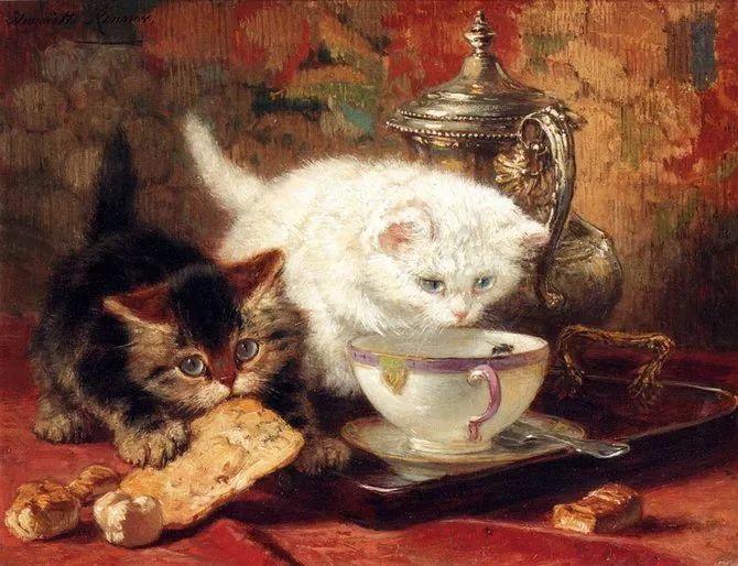 她爱猫、养猫、画猫,倾注一生才华献给猫插图51