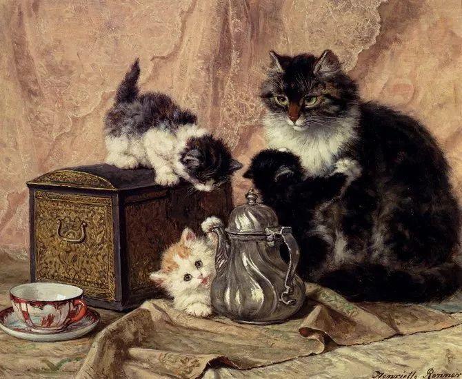 她爱猫、养猫、画猫,倾注一生才华献给猫插图59