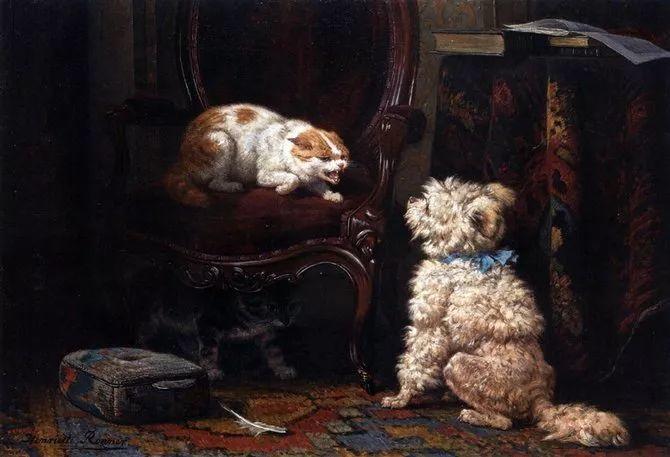 她爱猫、养猫、画猫,倾注一生才华献给猫插图61