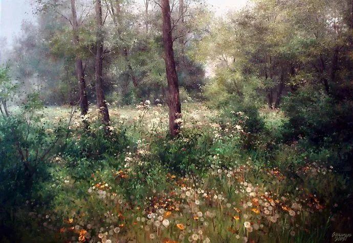 美丽的花景——乌克兰女画家奥尔加插图7
