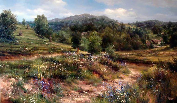 美丽的花景——乌克兰女画家奥尔加插图11