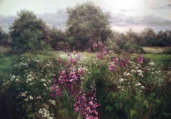 美丽的花景——乌克兰女画家奥尔加插图13