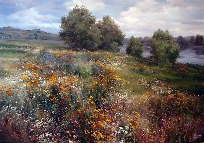 美丽的花景——乌克兰女画家奥尔加插图15
