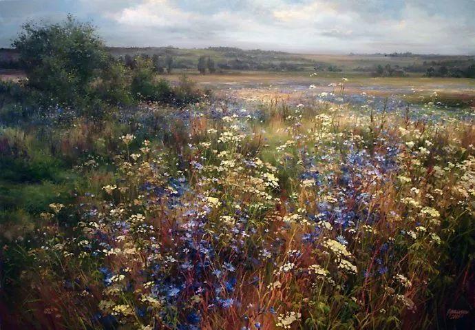 美丽的花景——乌克兰女画家奥尔加插图17