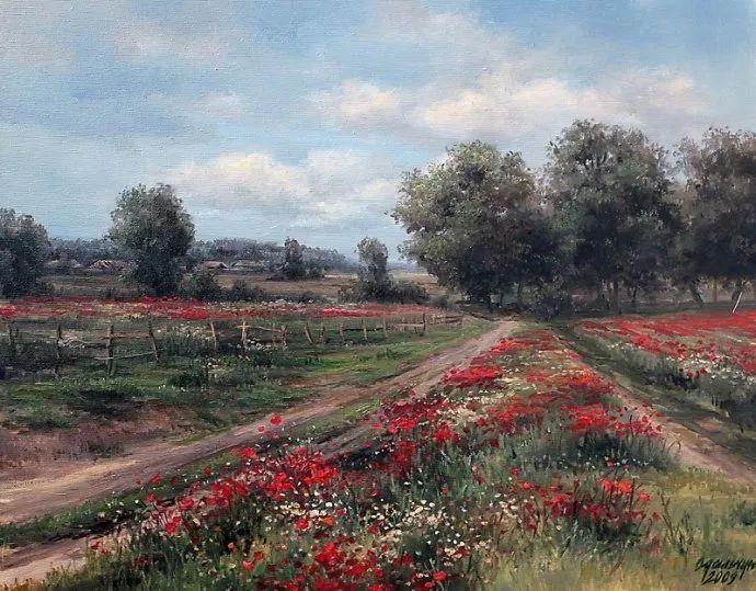 美丽的花景——乌克兰女画家奥尔加插图21