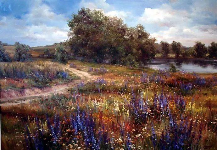 美丽的花景——乌克兰女画家奥尔加插图23