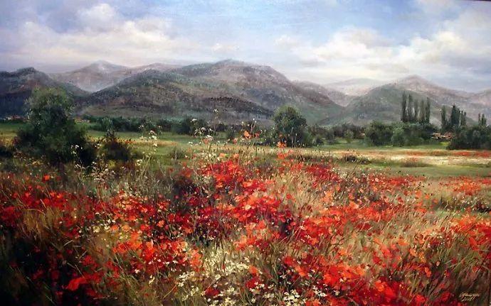 美丽的花景——乌克兰女画家奥尔加插图27