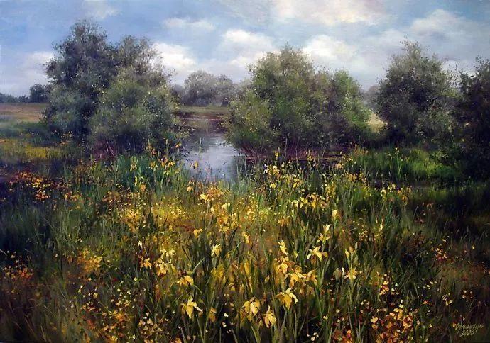 美丽的花景——乌克兰女画家奥尔加插图33