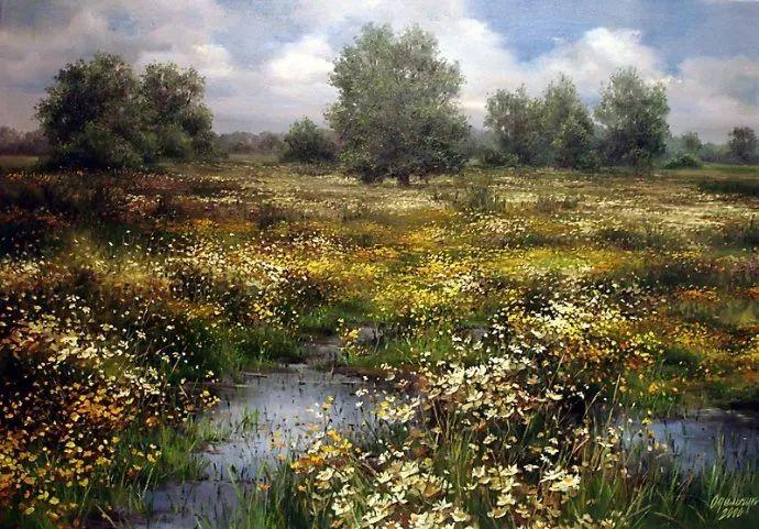 美丽的花景——乌克兰女画家奥尔加插图35