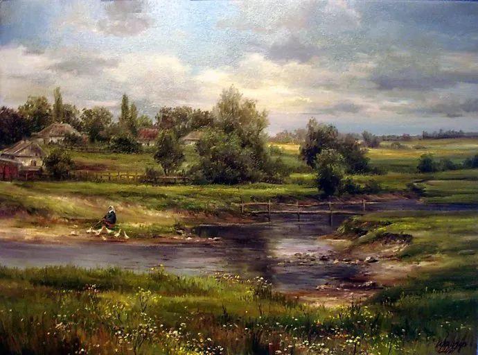 美丽的花景——乌克兰女画家奥尔加插图37