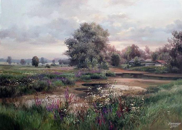 美丽的花景——乌克兰女画家奥尔加插图39