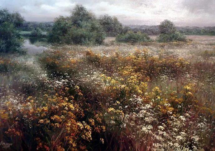 美丽的花景——乌克兰女画家奥尔加插图41
