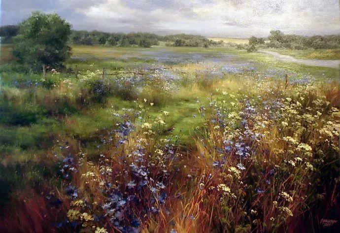 美丽的花景——乌克兰女画家奥尔加插图43