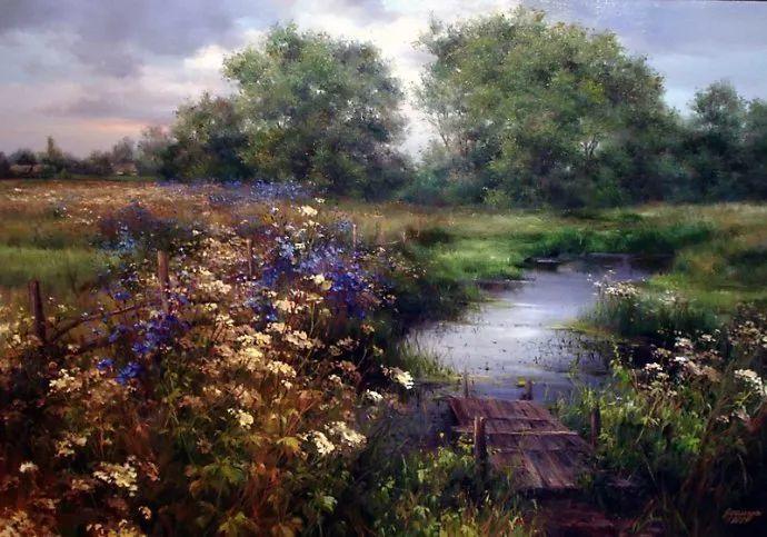 美丽的花景——乌克兰女画家奥尔加插图45