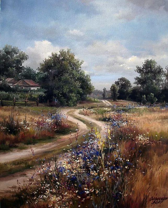 美丽的花景——乌克兰女画家奥尔加插图47