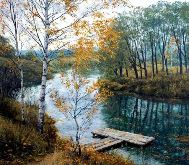 33幅俄罗斯精美风景油画插图3