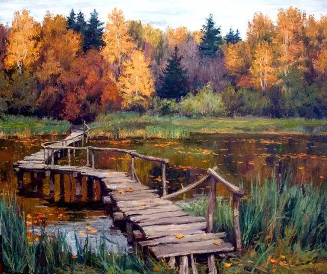 33幅俄罗斯精美风景油画插图7