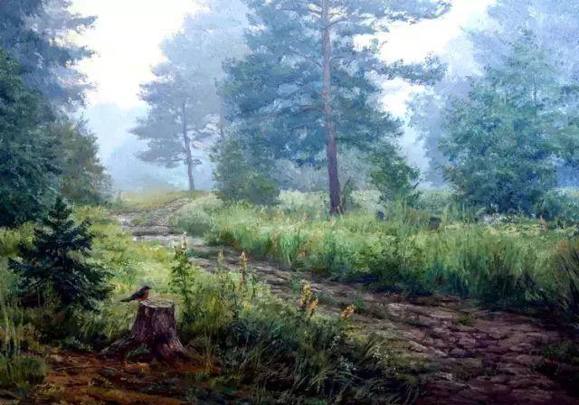 33幅俄罗斯精美风景油画插图11