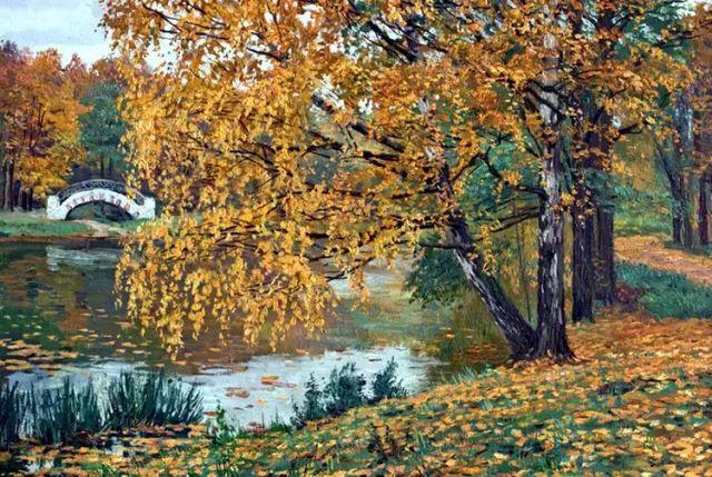 33幅俄罗斯精美风景油画插图17