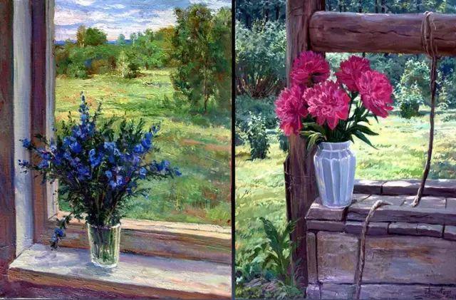33幅俄罗斯精美风景油画插图19