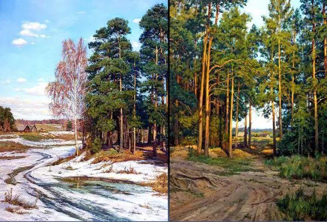 33幅俄罗斯精美风景油画插图21