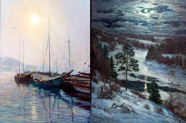 33幅俄罗斯精美风景油画插图23