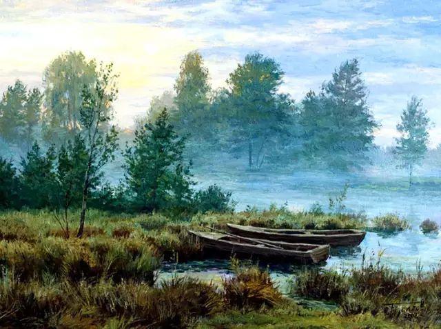 33幅俄罗斯精美风景油画插图27