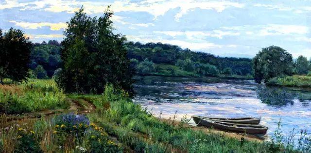33幅俄罗斯精美风景油画插图29