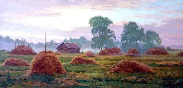 33幅俄罗斯精美风景油画插图31
