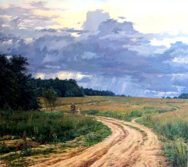 33幅俄罗斯精美风景油画插图35