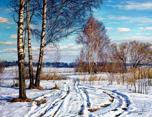 33幅俄罗斯精美风景油画插图37