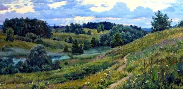 33幅俄罗斯精美风景油画插图41