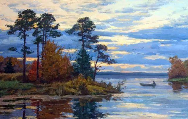 33幅俄罗斯精美风景油画插图43