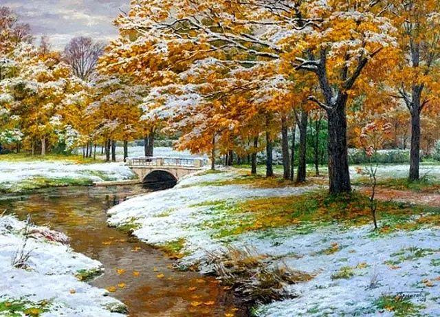 33幅俄罗斯精美风景油画插图47