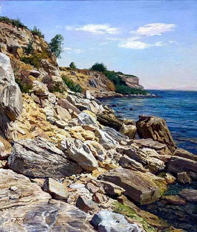 33幅俄罗斯精美风景油画插图55