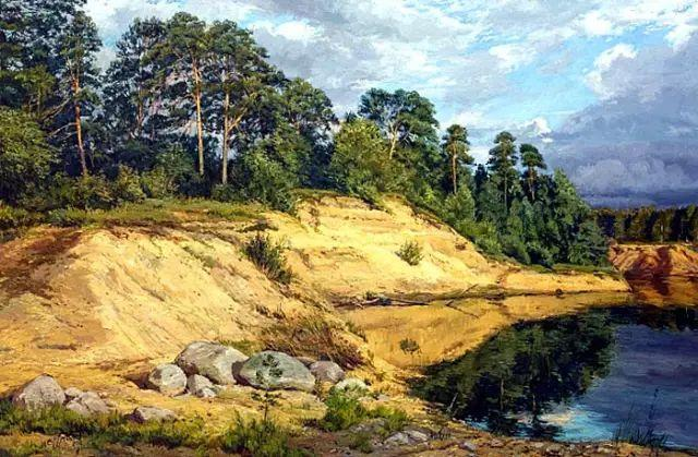 33幅俄罗斯精美风景油画插图57