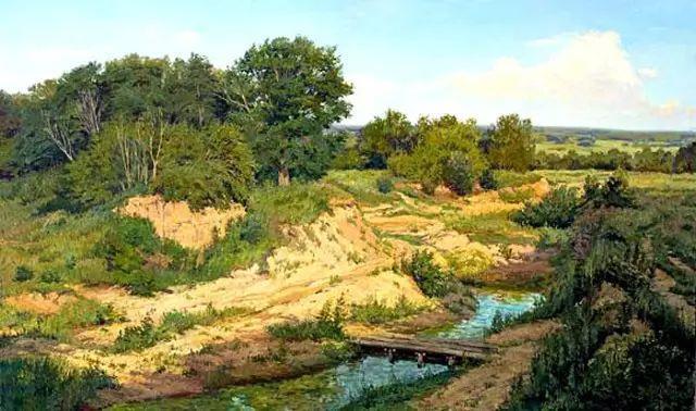 33幅俄罗斯精美风景油画插图65